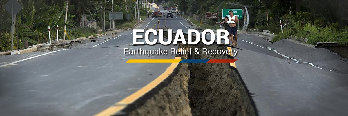 Airlink Response: Ecuador Earthquake