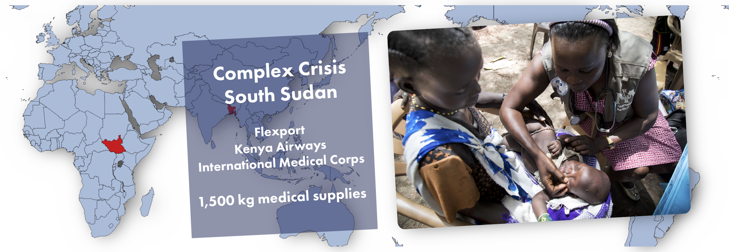 South Sudan Medical Supply Shipment